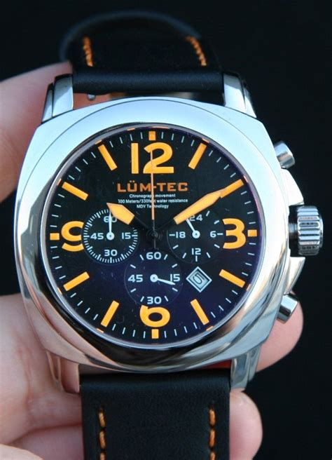 the real orange glow lum tec m3 review ablogtowatch