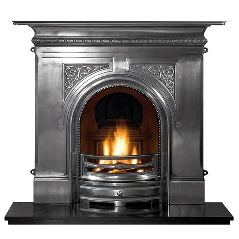 Cast Iron Gas Fireplaces by Gallery Pembroke Cast Iron Fireplace Style
