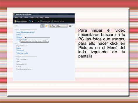 windows movie maker presentation tutorial tutorial movie maker