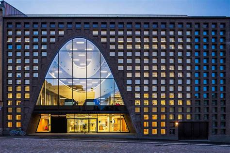 design hill finland university of helsinki city cus library by aoa e