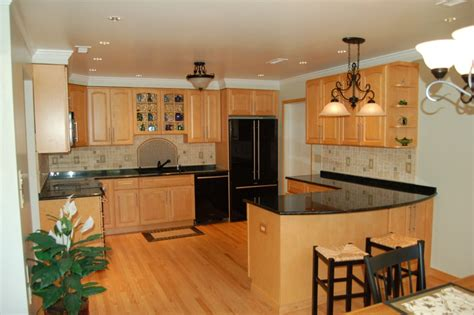 Kitchen Wall Colors With Honey Oak Cabinets Kitchen