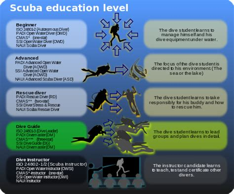 dive certifications divemaster