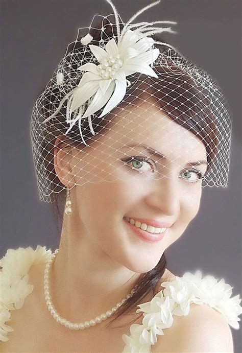 Vintage Bridal Hair Fascinators by Best 25 Vintage Birdcage Veils Ideas On