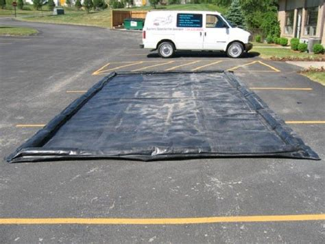 water reclamation system car wash mat water