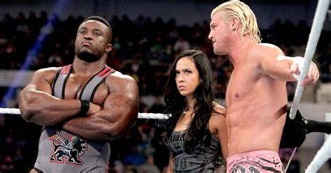 big e langston bench press i love wwe money in bank winner dolph ziggler with aj lee