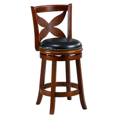 Cheap Bar Stools by Livingston Cherry Floral Back Swivel Counter Stool Design Bookmark 8490