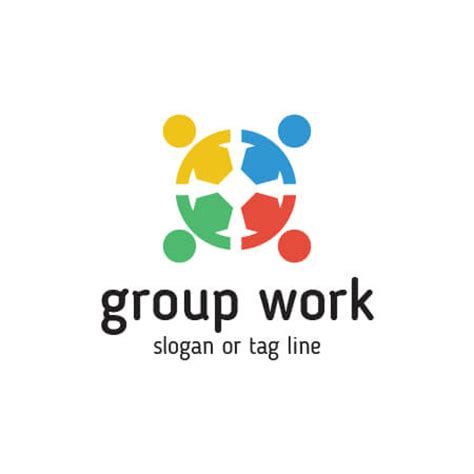 home group design works buy group work logo template design