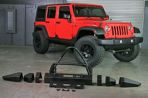 jeep metal bumper m t metal series bumpers give jeeps much more than a tough