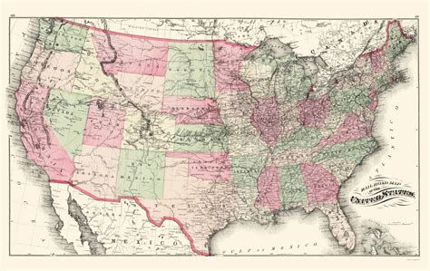 map of the united states railroads old railroad maps united states railroads us by c h