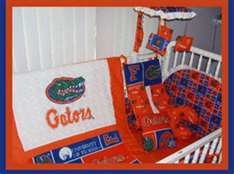 Florida Gator Crib Bedding Florida Gators Football Nursery 2008 Chions