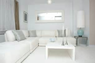 White Living Room by White Modern Design Contemporary Living Room New