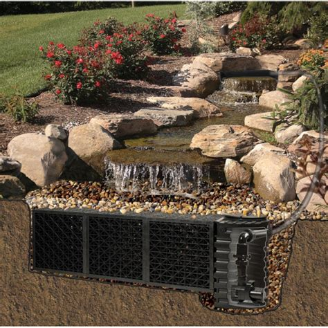 backyard waterfall kits pondless fountain pondless waterfall kit big bahama