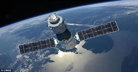 Menyelidiki Ruang Angkasa Bulan stasiun luar angkasa tiongkok tidak terkendali akan jatuh ke bumi dalam hitungan bulan