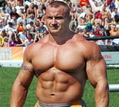 fedor emelianenko bench press mariusz pudzianowski strongman training workout muscle