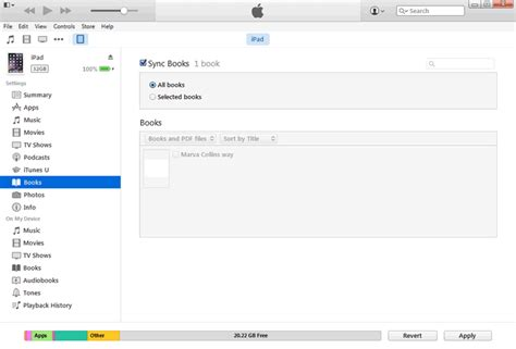 Where Is The File Section Of Itunes by How To Transfer Pdf Files To Iphone