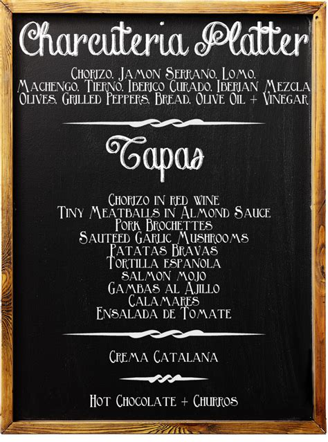 tapas meal    dine ith furniture choice