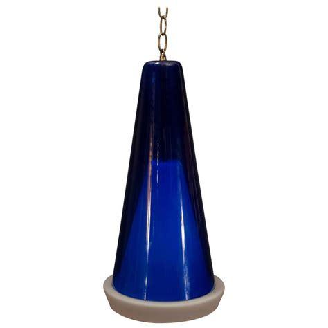 Scandinavian Blue Glass Pendant Fixture For Sale At 1stdibs Scandinavian Lighting Fixtures