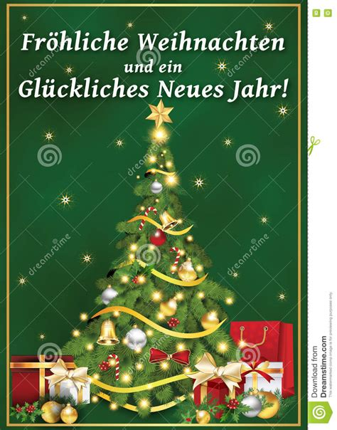 german corporate greeting card  winter holiday stock illustration illustration  baubles