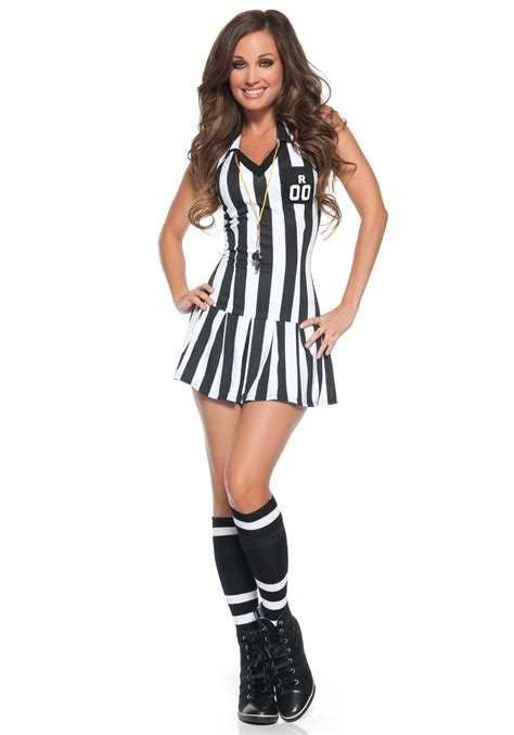 womens costumes womens referee costume