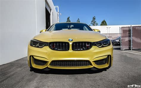 matte scheinwerfer yellow bmw m4 convertible by eas looks pretty