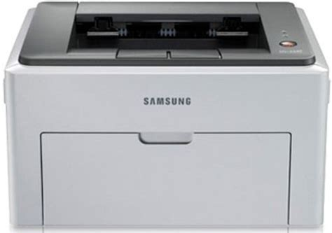 Printer Laser Samsung Ml2240 samsung ml 2240 remanufactured black and white laser printer 150 mhz processor 8mb memory