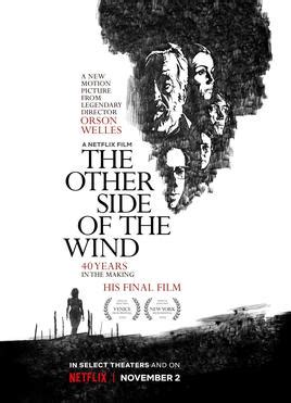 The Other Side Of The Wind Wikipedia
