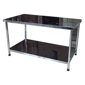 Meja Dapur Stainless Steel jual meja stainless reyoven harga murah duniamasak