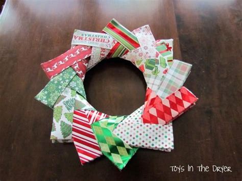 How To Make A Origami Wreath - origami wreath tutorial tip junkie