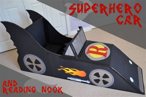 How Do You Make A Car Out Of Paper - i am momma hear me roar car and reading nook