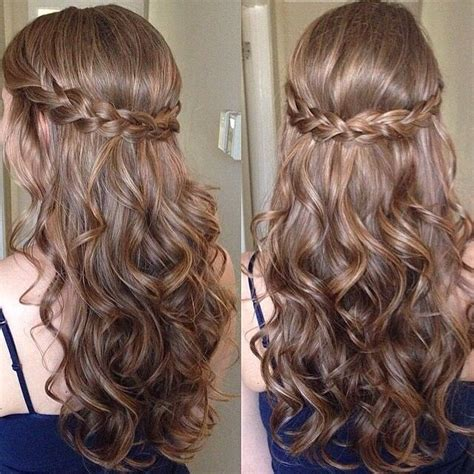 hoco hairstyles down best 25 curly homecoming hair ideas on pinterest curly