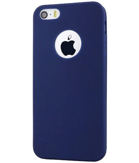 Iphone Iphone 5s Cracker Cover apple iphone 5s cover by egotude blue plain back covers at low prices snapdeal india