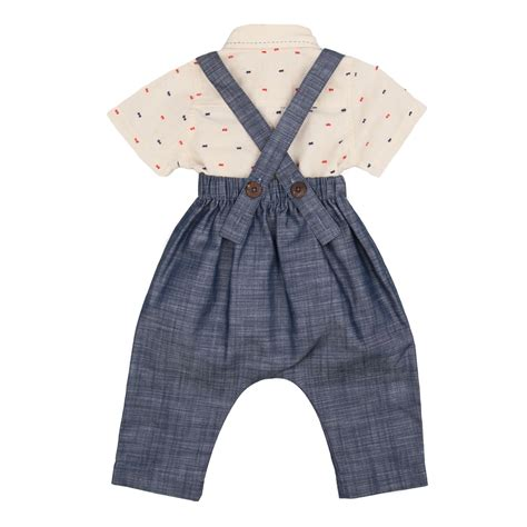 Overal Set poeme poesie dot shirt overall set thetot