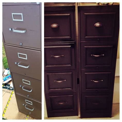 Metal Filing Cabinet Makeover 1000 Ideas About File Cabinet Makeovers On Pinterest Metal Desk Makeover Metal Desks And