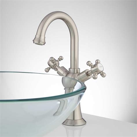 bathroom faucets for vessel sinks danelle single hole vessel faucet bathroom