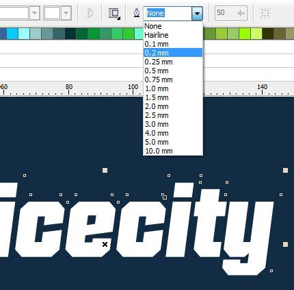 cara membuat outline font cara membuat text dengan outline 3d