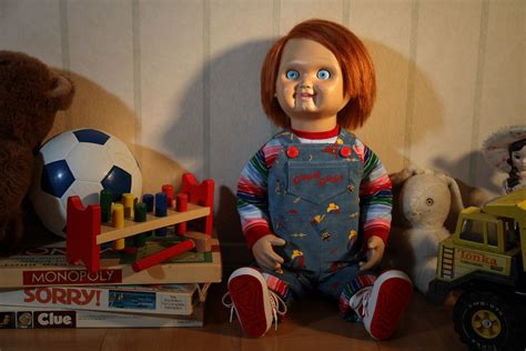 good guy doll box life size replica chucky good guy doll toys