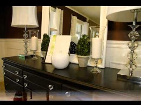 Dining Room Buffet Server by Diy Dining Room Buffet Decorations Youtube