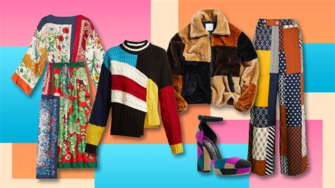 patchwork fashion 2019 s patchwork trend means clothing goes maximal