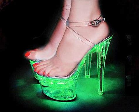 light up high heel shoes light up high heel led platform high heel luminous