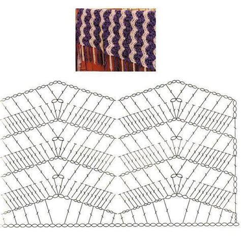 zig zag crochet pattern chart crochet ripple stitch chart crochet things to make