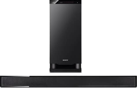 sony ht ct150 powered home theater sound bar with separate