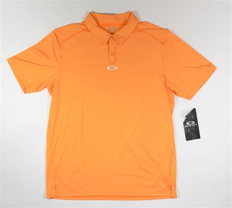 Polo Shirt Oakley Original 143 oakley newlyn mens golf sleeve polo shirt large new