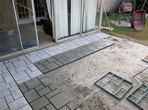 backyard tile ideas 9 diy cool creative patio flooring ideas the garden glove