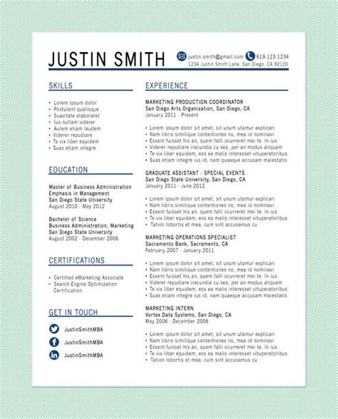 visual resume cv images  pinterest resume