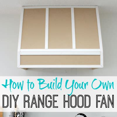 fan with ac built in how to build a diy range fan for a broan insert
