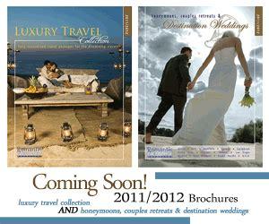 Wedding Travel Brochure by Destination Weddings Honeymoons And Getaways
