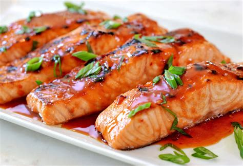 Kitchen Dish Rack Ideas broiled salmon with thai sweet chili glaze once upon a chef