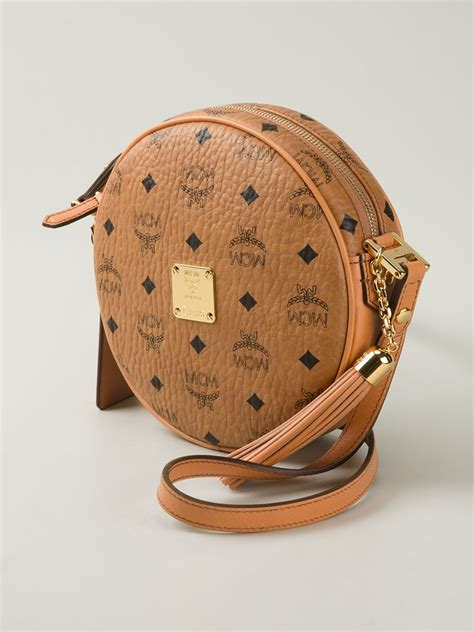 Kaos Chelsea Chelsea Creative 3 mcm heritage tambourine cross bag in brown lyst
