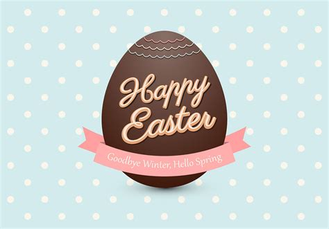 chocolate easter egg psd background  photoshop