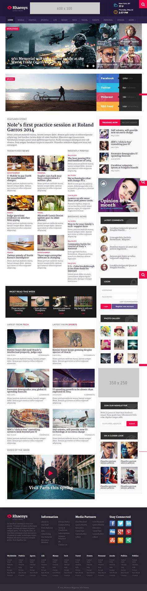 html5 templates for news website best responsive html5 website templates html5 css3